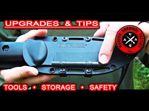 Equipment upgrades & tips / TOOLS, STORAGE & SAFETY