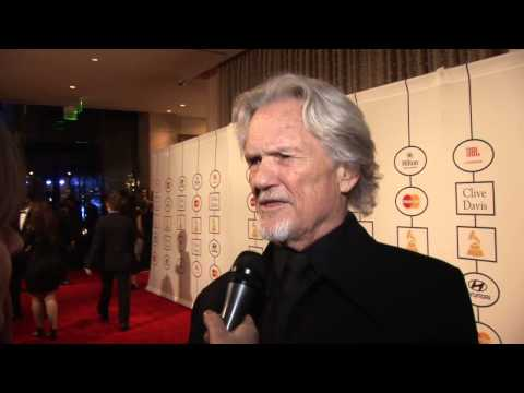 Kris Kristofferson on receiving a lifetime achievement award at the 2014 Grammy Awards