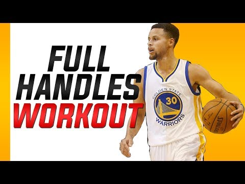 Stephen Curry Dribbling Drills: Full Workout Routine
