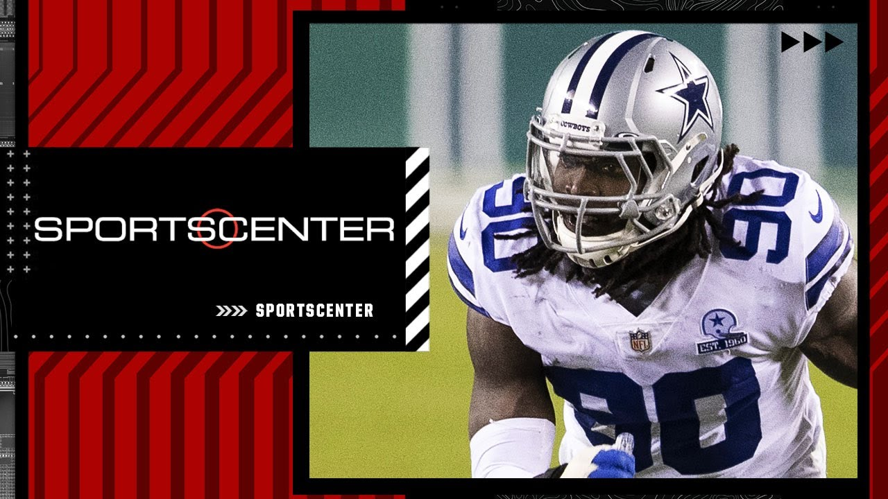DeMarcus Lawrence suffered broken foot at Cowboys practice, out 6-8 weeks | SportsCenter