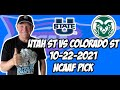 Utah State vs Colorado State 10/22/21 Free College Football Picks and Predictions Week 8 2021