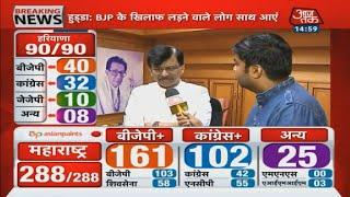 Maharashtra Results 2019: नतीजों को लेकर क्या कहा Snajay Raut ने, सुनिए