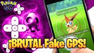 SOLUCION Joystick Ubicacion ¡ MEJOR FAKE GPS Pokemon GO ! Servicios Google Play de Android 6, 7 y 8