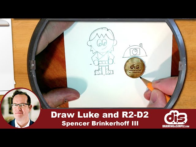 DrawingIsSimple: Luke and R2