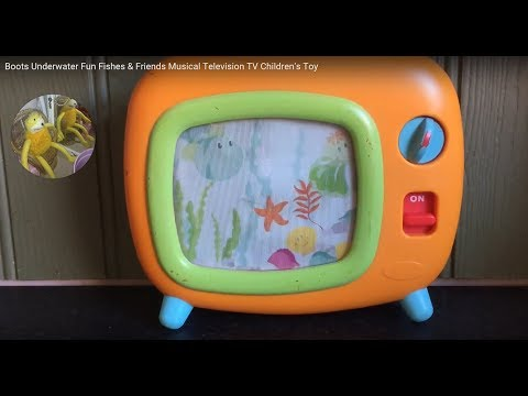 Boots Underwater Fun Fishes & Friends Musical Television TV Children's Toy