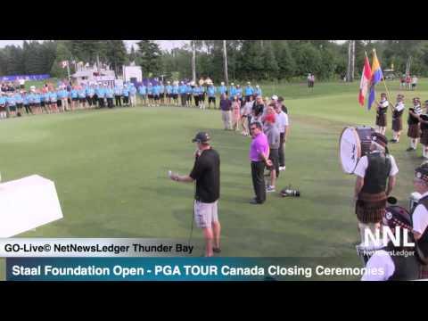 PGA TOUR Canada Staal Foundation Open Closing Ceremonies