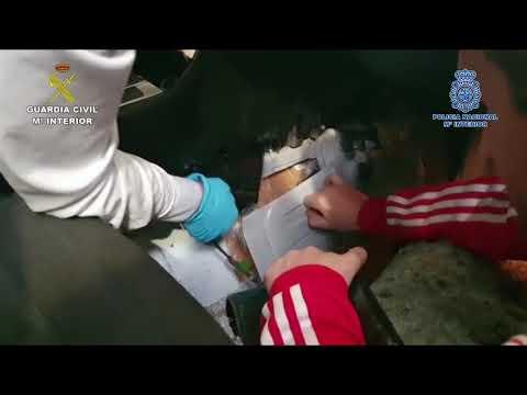 Operación Fireball Kazino: once detenidos y 20 kilos de heroína incautados