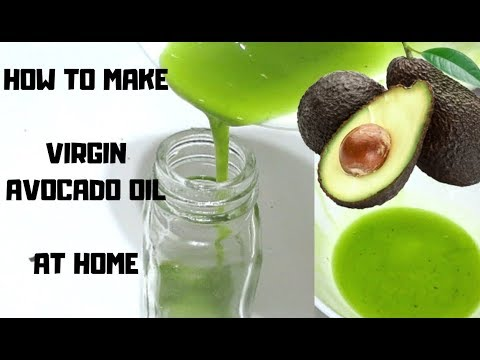 DIY PURE AVOCADO OIL FOR HAIR AND SKIN