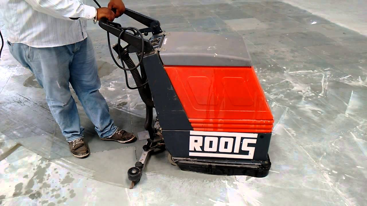 ROOTS E430 Industrial Floor Cleaning Machine