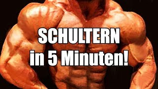 Schultern in 5 Minuten!
