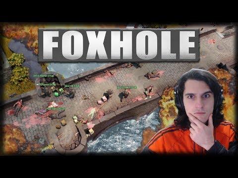 Jogando FOXHOLE 1.0 - Aprendendo a Jogar o MMO de Segunda Guerra!!