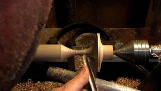 #55 Woodturning a Spinning Top