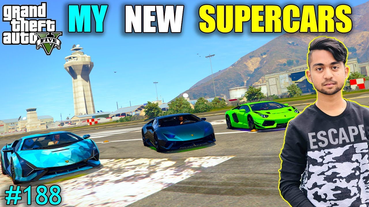MY NEW SUPER LAMBORGHINI | MICHAEL BUY NEW LAMBORGHINI | GTA V GAMEPLAY #188