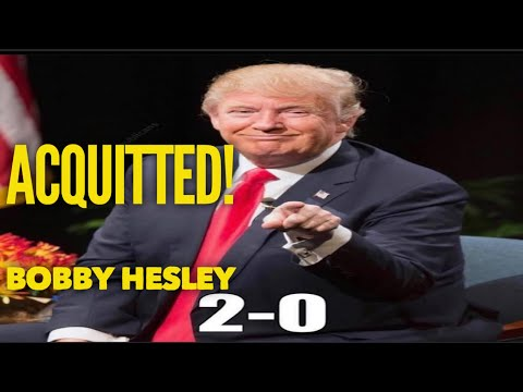 DONALD TRUMP ACQUITTED AGAIN!