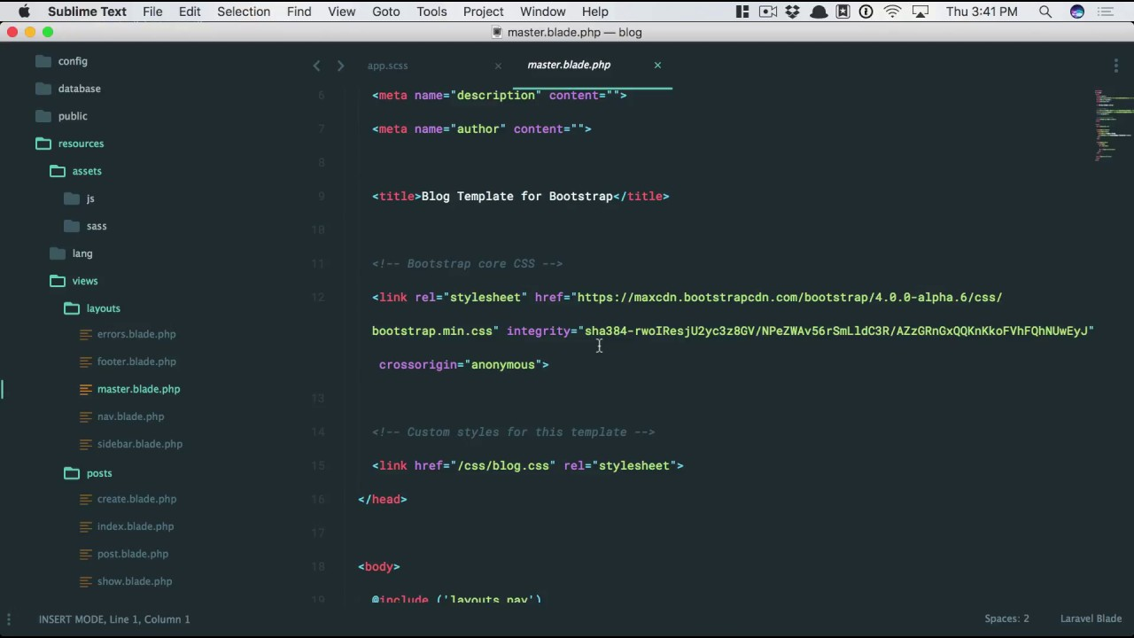 Laravel From Scratch Part 14 Laravel Mix And The Front End Youtube