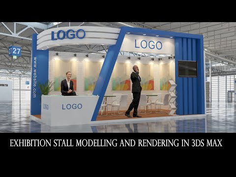 Exhibition stall modeling