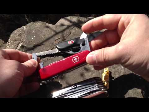Victorinox couteau suisse, mon choix