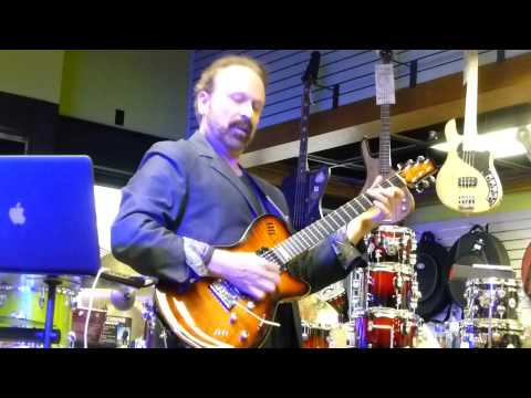 "Daryl Stuermer - ""Freeway Jam"" @ Heid Music - Appleton, WI April 24, 2014"
