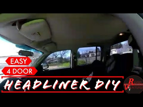 Saggy Roof Fix 2003 Dodge Dakota