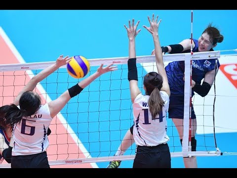 AVC WOMEN'S VOLLEYBALL CHAMPIONSHIP 2019 | POOL A | KOR - HKG