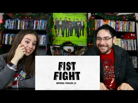 Fist Fight - Official Trailer 2 Reaction /Review