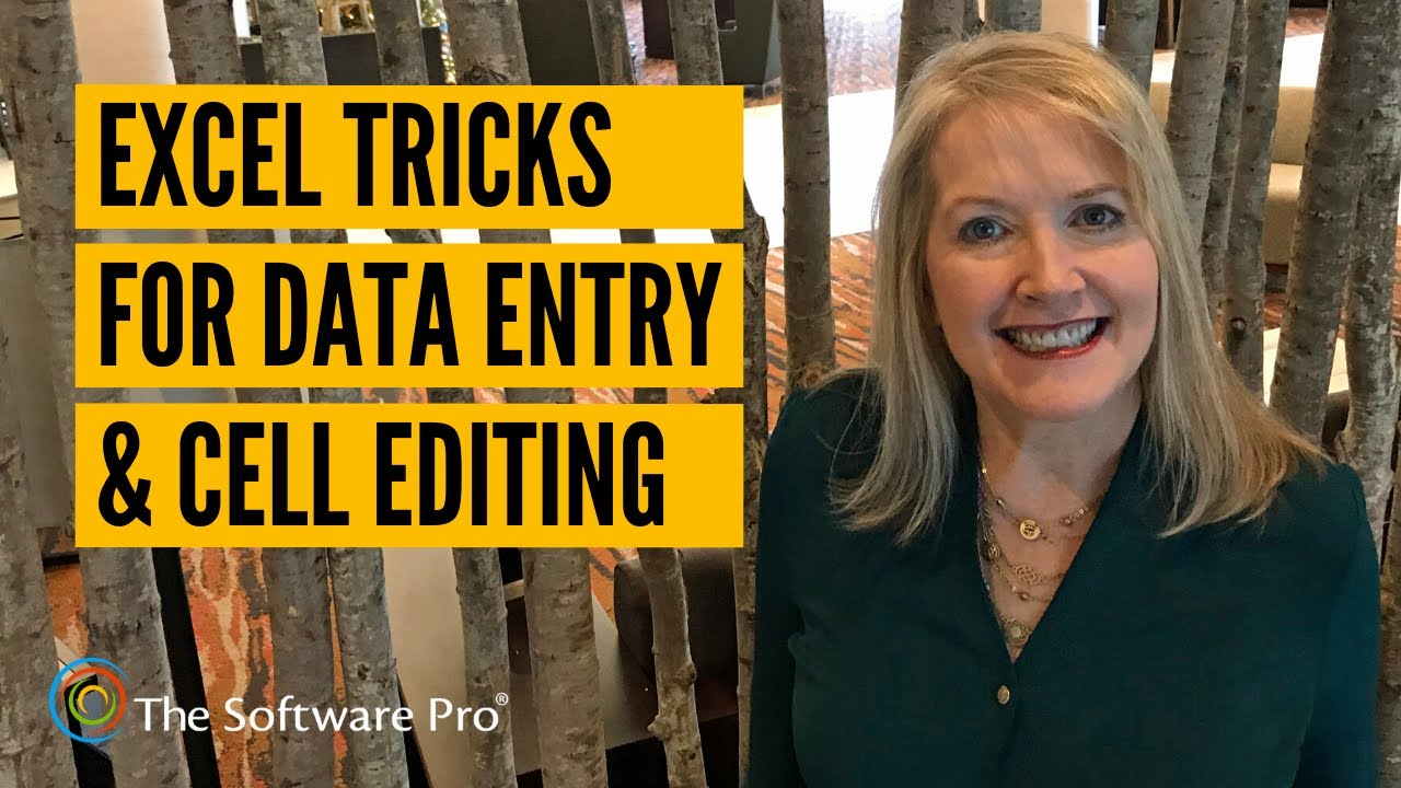 Microsoft Excel : Cell Entry & Data Editing Tricks; Tips & Shortcuts for Editing Excel Worksheets