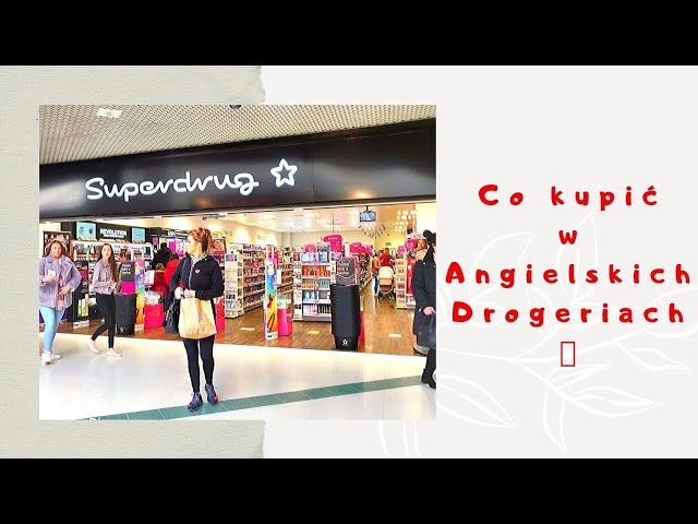 Superdrug, Boost, Body Care | Angielskie Drogerie