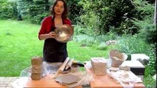 JumaArt -  jak zrobić donicę z gliny