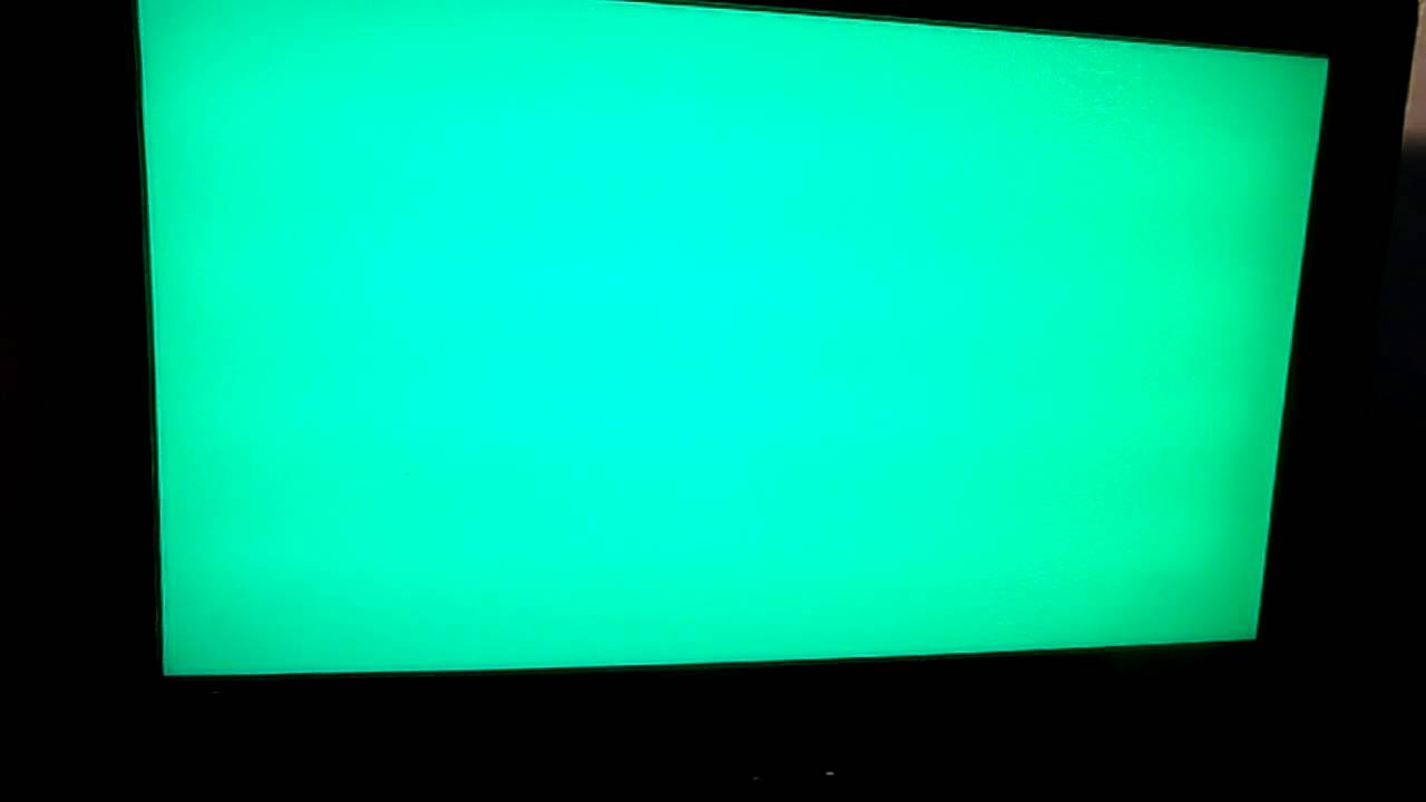 why does my tv change colors by it self