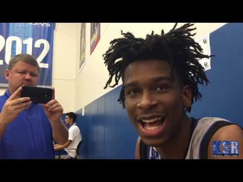 Kentucky players describe their teammates