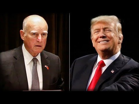 BOOM! Cali Gov. Jerry Brown CAVES To Trump, Then Trump Does the ONE Thing He Cannot REJECT