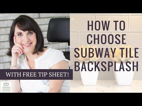 Subway Tile For Backsplashes