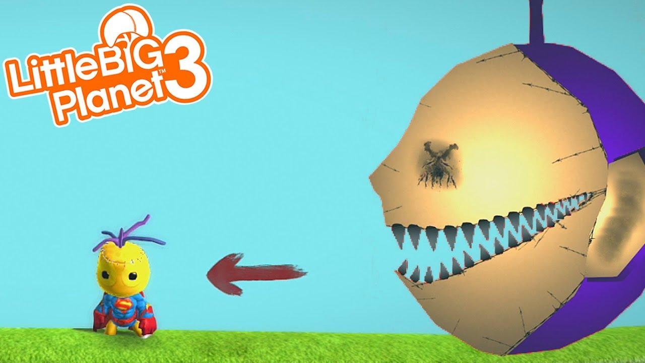 TELETUBBIES.EXE | LittleBIGPlanet 3 Gameplay (Playstation 4) - YouTube
