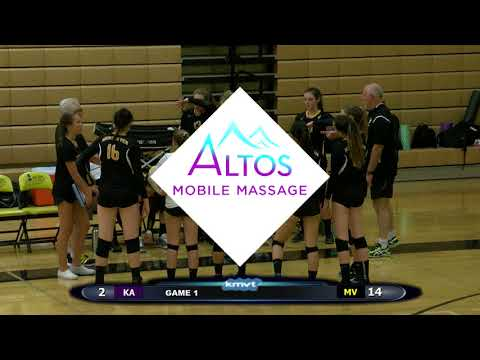 King's Academy Knights vs Mountain View Spartans - Volleyball, August 31, 2017
