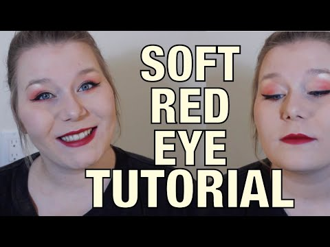 SOFT RED EYES TUTORIAL thumbnail