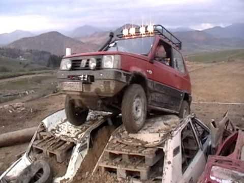 Master of offroad brezno panda 4x4 youtube for Panda 4x4 sisley off road