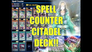 Yu-Gi-Oh Duel Links - Spell Counter Deck