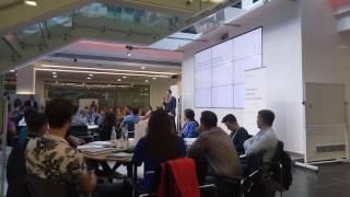 Открытие очного этапа обучения программы Бизнес класс Сбербанка и Google