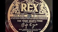 Pop Eye 'The Teddy Bear's Picnic' 1937 78 rpm