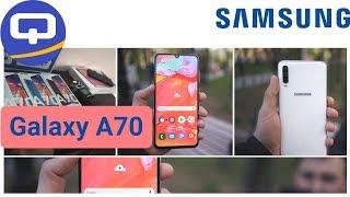 Новинка от Samsung! Быстрый обзор Samsung Galaxy A70 /QUKE.RU/