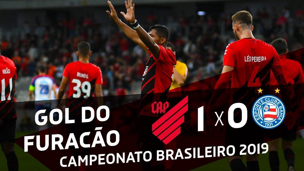 Athletico Paranaense 1x0 Bahia Gol Do Furacão Youtube