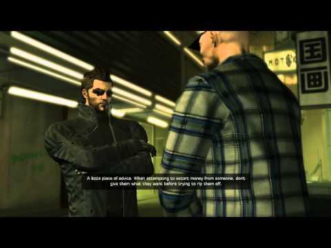 Deus Ex Human Revolution playthrough part 11 shanghai justice