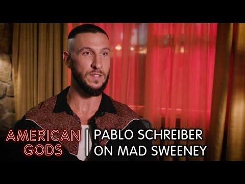 Pablo Schreiber on Mad Sweeney  American Gods