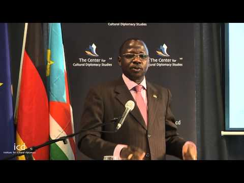 Cirino Hiteng Ofuho, South Sudanese Minister of Culture, Youth and Sports