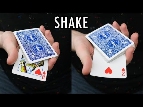 TRIPLE SHAKE CHANGE - Card Trick Tutorial
