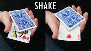 TRIPLE SHAKE CHANGE - Card Trick Tutorial thumbnail