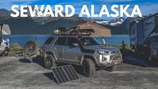 S1:E43 Camping in Seward & Sled dog PUPPIES! - Lifestyle Overland