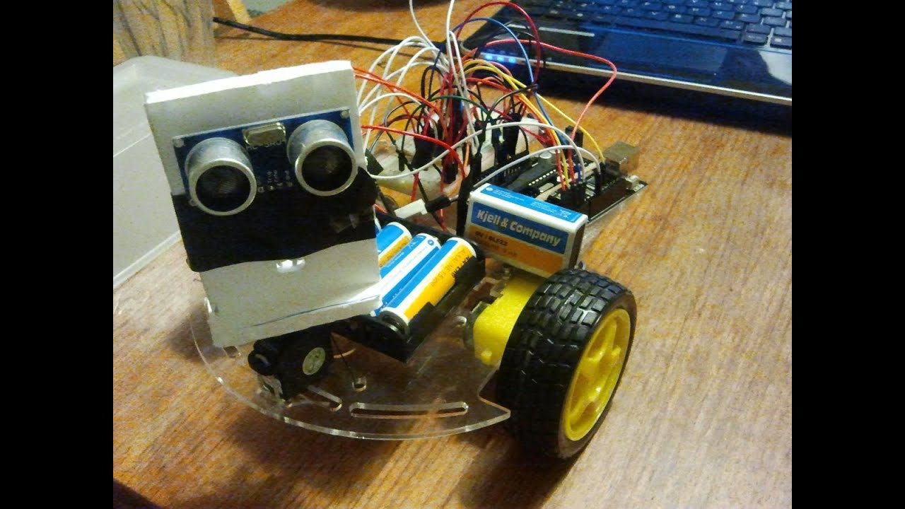 Obstacle avoiding arduino robot youtube