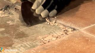 Sustituir una baldosa cerámica rota (Bricocrack)