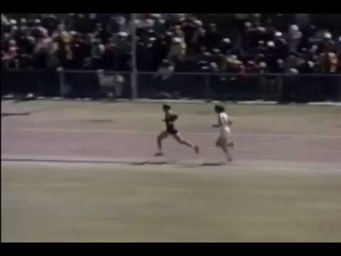 Dick Tayler 1974 10000m finish